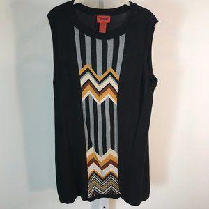 Missoni for Target Black Knit Dress XL